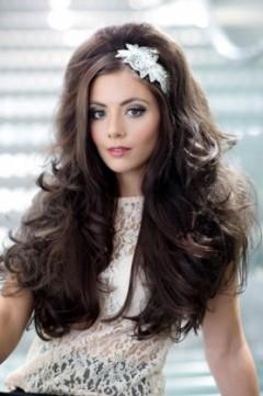 Gisele half head wig
